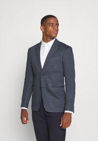 Only & Sons - ONSELIJAH CHECKCASUAL - Blazer jacket - dark navy - 0