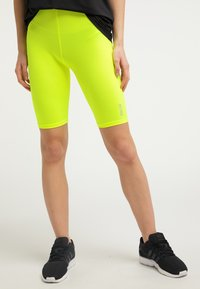 myMo ATHLSR - Shorts - neon yellow - 0