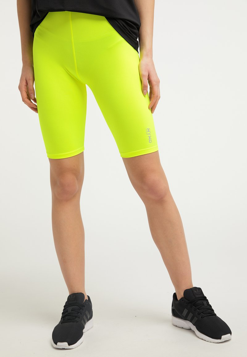 myMo ATHLSR - Shorts - neon yellow