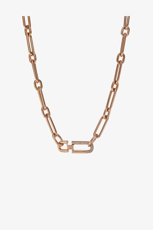 NECKLACE - Necklace - rose gold-coloured