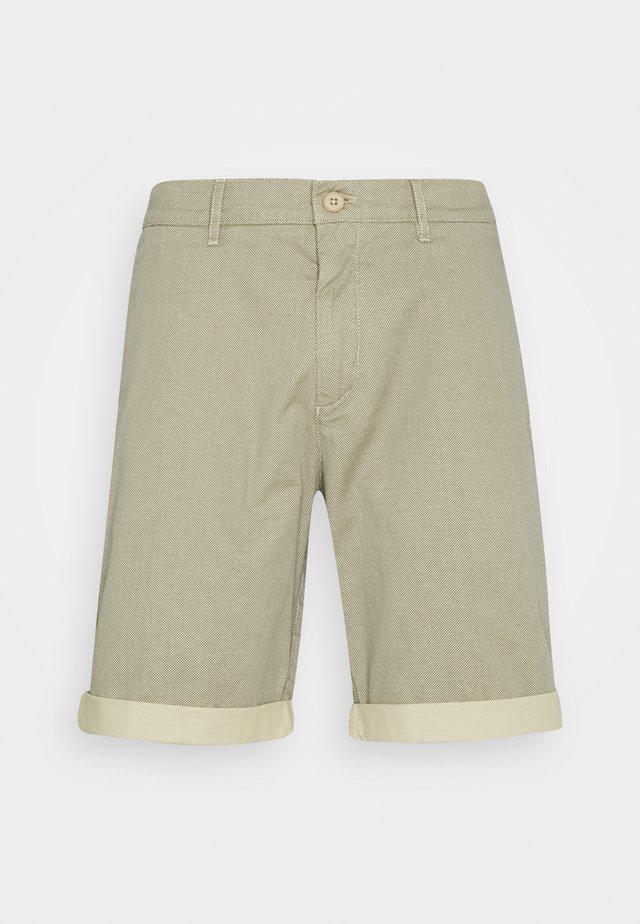 MIK CHINO ELASTIC WAISTBAND AT BACK - Shorts - scandinavian beige