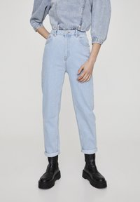 PULL&BEAR - Jeansy Straight Leg - light blue - 0