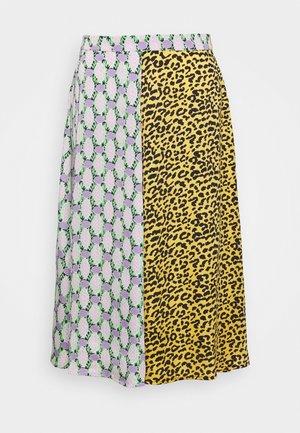 ULITHA - A-line skirt - canary