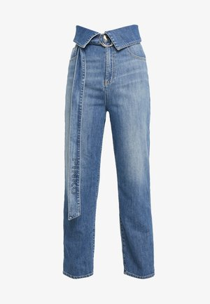 TARAH SUPER HIGH RISE  - Straight leg jeans - blu indaco