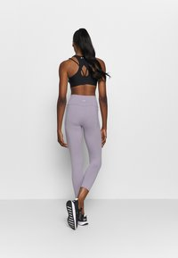 Under Armour - MERIDIAN CROP - Medias - slate purple - 2