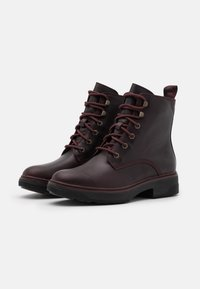 Timberland - NOLITA SKY LACE UP - Lace-up ankle boots - burgundy - 2