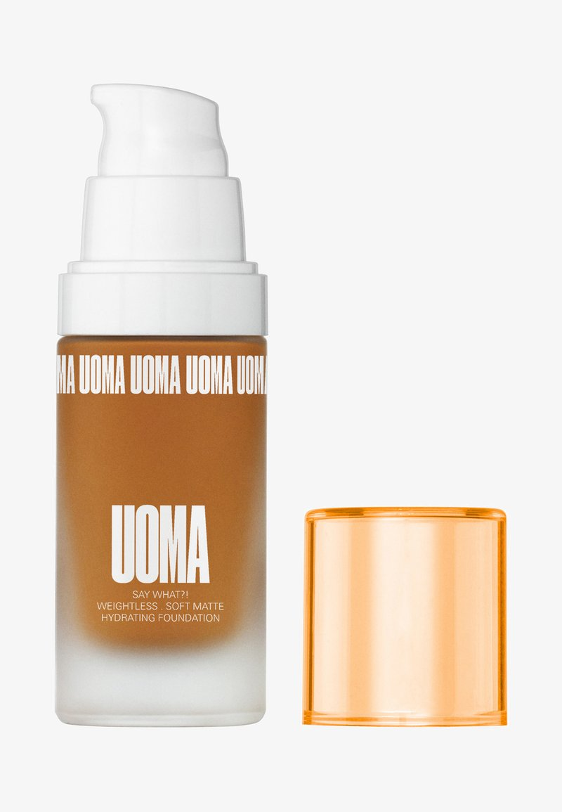 UOMA - SAY WHAT?! FOUNDATION - Foundation - t1w brown sugar