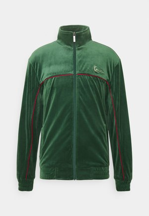 SMALL SIGNATURE TRACK JACKET UNISEX - Kurtka sportowa - darkgreen