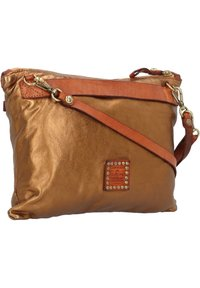 Campomaggi - Across body bag - bronzo+t/cognac - 1