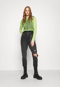 The Ragged Priest - LIME SHEER BLACK SEAMS - Jumper - lime - 1
