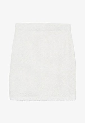 UPPER - Mini skirt - blanc