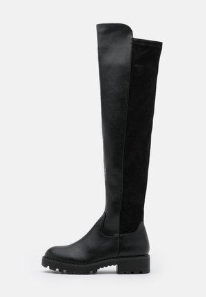 MIREYA - Over-the-knee boots - black