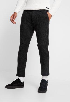 LINUS SLIM - Pantaloni - antracite