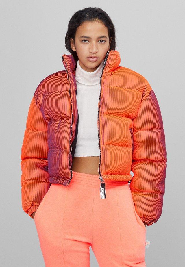 LENTICULAR - Kurtka zimowa - orange