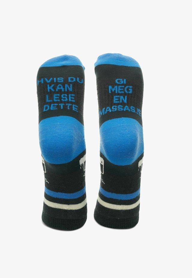 MASSASJE - Sokker - blå og mørkeblå