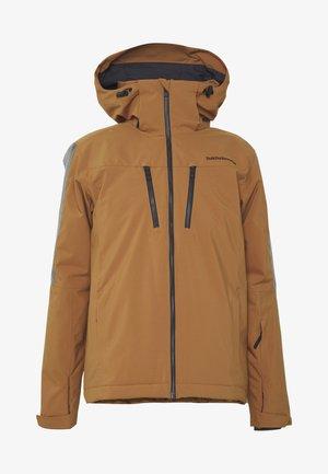 CLUSAZ - Veste de ski - honey brown