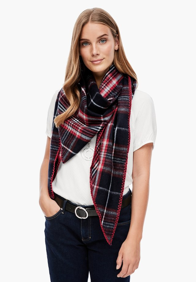 Foulard - dark blue check