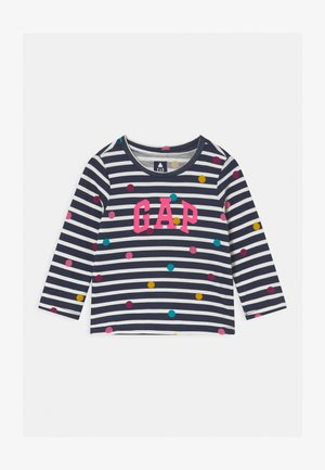 TODDLER GIRL LOGO  - Long sleeved top - navy blue