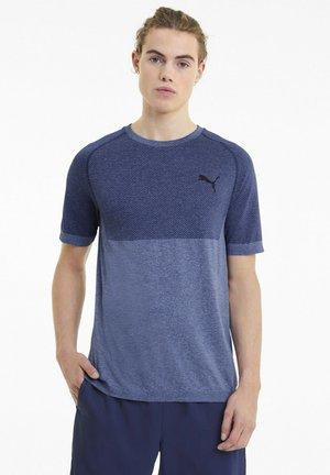 Print T-shirt - elektro blue