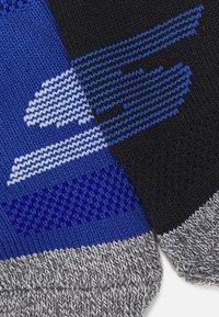 Skechers Performance - MENS PERFORMANCE QUARTER 6 PACK - Sports socks - classic blue mix - 1