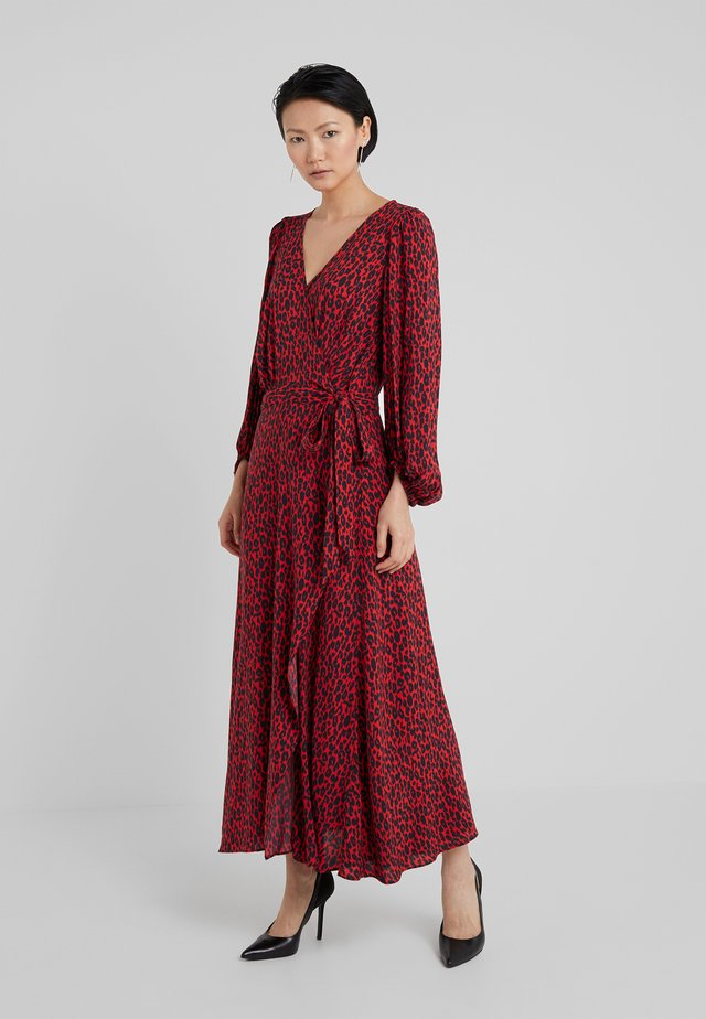 ZANAKA - Robe longue - red