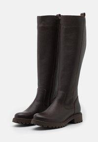 Anna Field - LEATHER - Boots - dark brown - 2