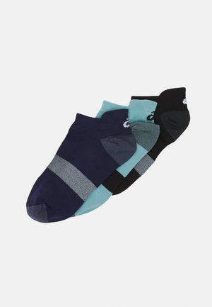 LYTE 3 PACK UNISEX - Sports socks - performance black/peacoat/smoke blue