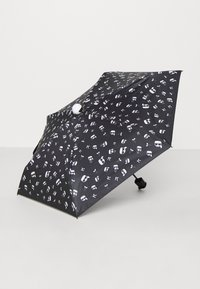 KARL LAGERFELD - IKONIK UMBRELLA - Umbrella - black - 1