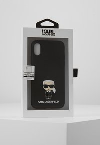 KARL LAGERFELD - IKONIK PIN XS - Phone case - black - 5