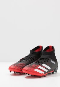 adidas Performance - PREDATOR 20.3 FG - Moulded stud football boots - core black/footwear wihte - 3