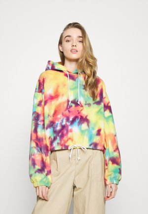 RUSSETT HOOD - Collegepaita - yellow multi