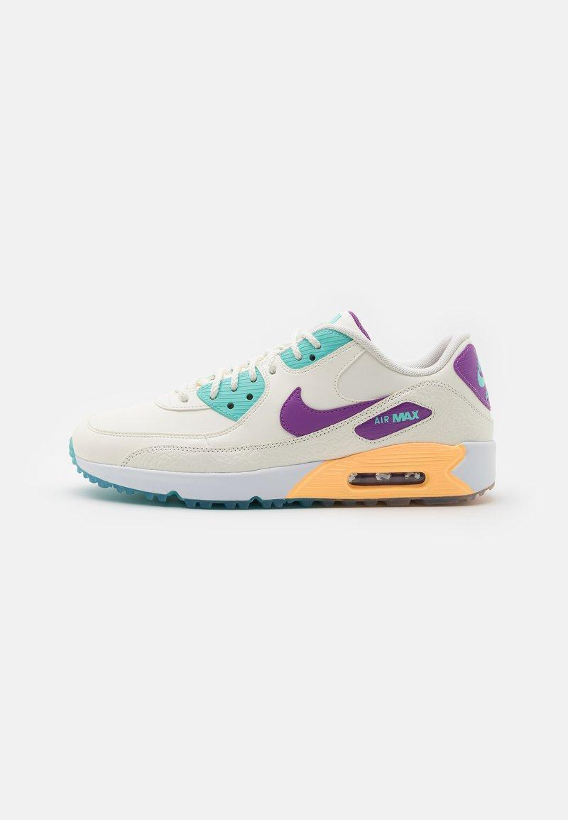 Nike Golf - US OPEN AIR MAX 90 G NRG U21 - Zapatos de golf - sail/purple/melon tint