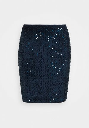 LADIES SKIRT - Mini skirt - navy blue