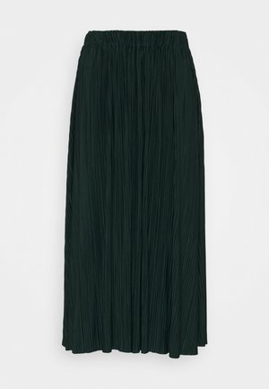 UMA SKIRT - Pleated skirt - darkest spruce