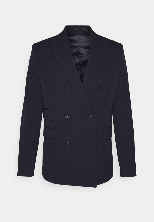MARVIN DOUBLEBREASTED - Blazer - dark navy