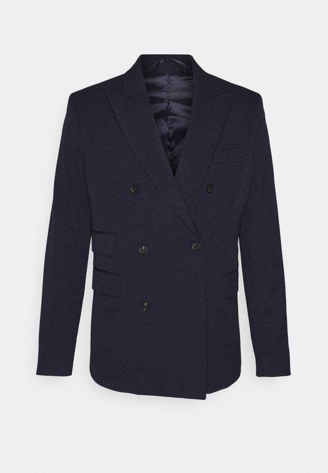 MARVIN DOUBLEBREASTED - blazer - dark navy