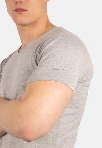Bandoo Underwear - 2PACK - Undershirt - grey, dark grey - 5
