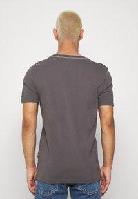 G-Star - TEXT SLIM - T-shirt print - shadow - 2