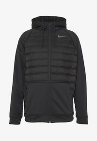 Nike Performance - Vinterjacka - black/dark grey - 4
