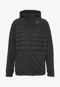 Veste de survêtement - black/dark grey