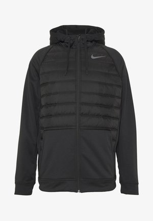 Veste de survêtement - black/dark grey