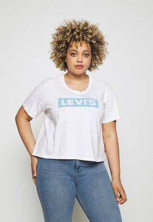 GRAPHIC JORDIE  - Print T-shirt - white