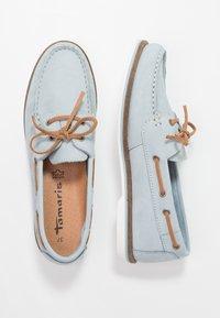Tamaris - Boat shoes - sky - 3