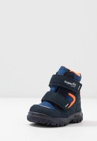 Superfit - HUSKY - Winter boots - blau/orange - 2