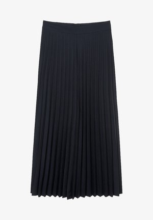 Pleated skirt - dark night