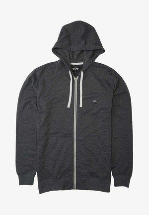 ALL DAY ZIP CAPUCHE - Zip-up sweatshirt - black