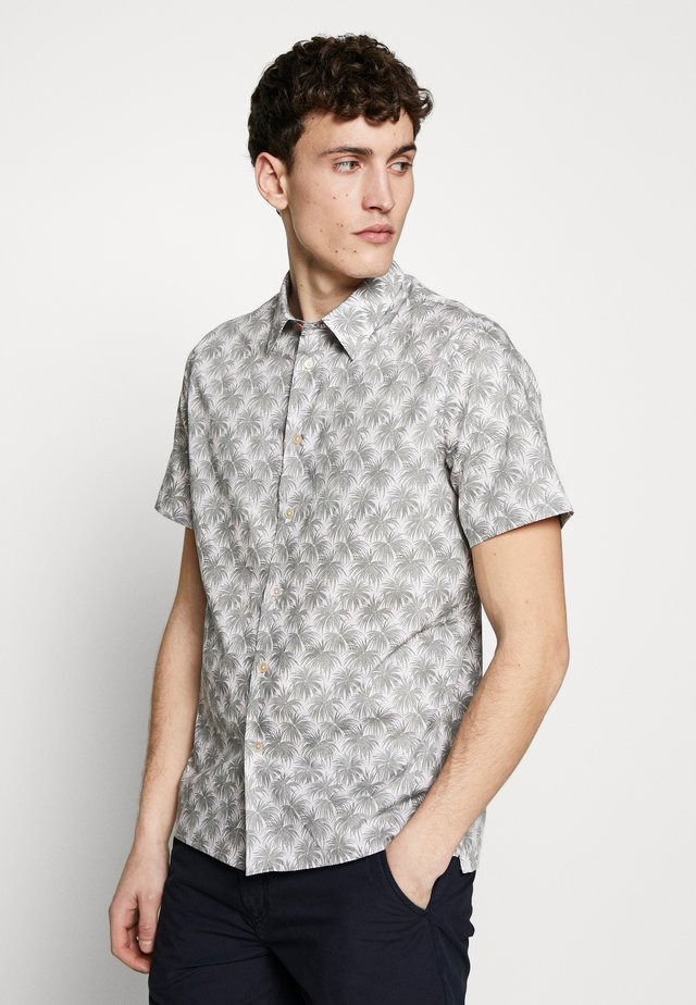 MENS CASUAL PALM - Camisa - beige