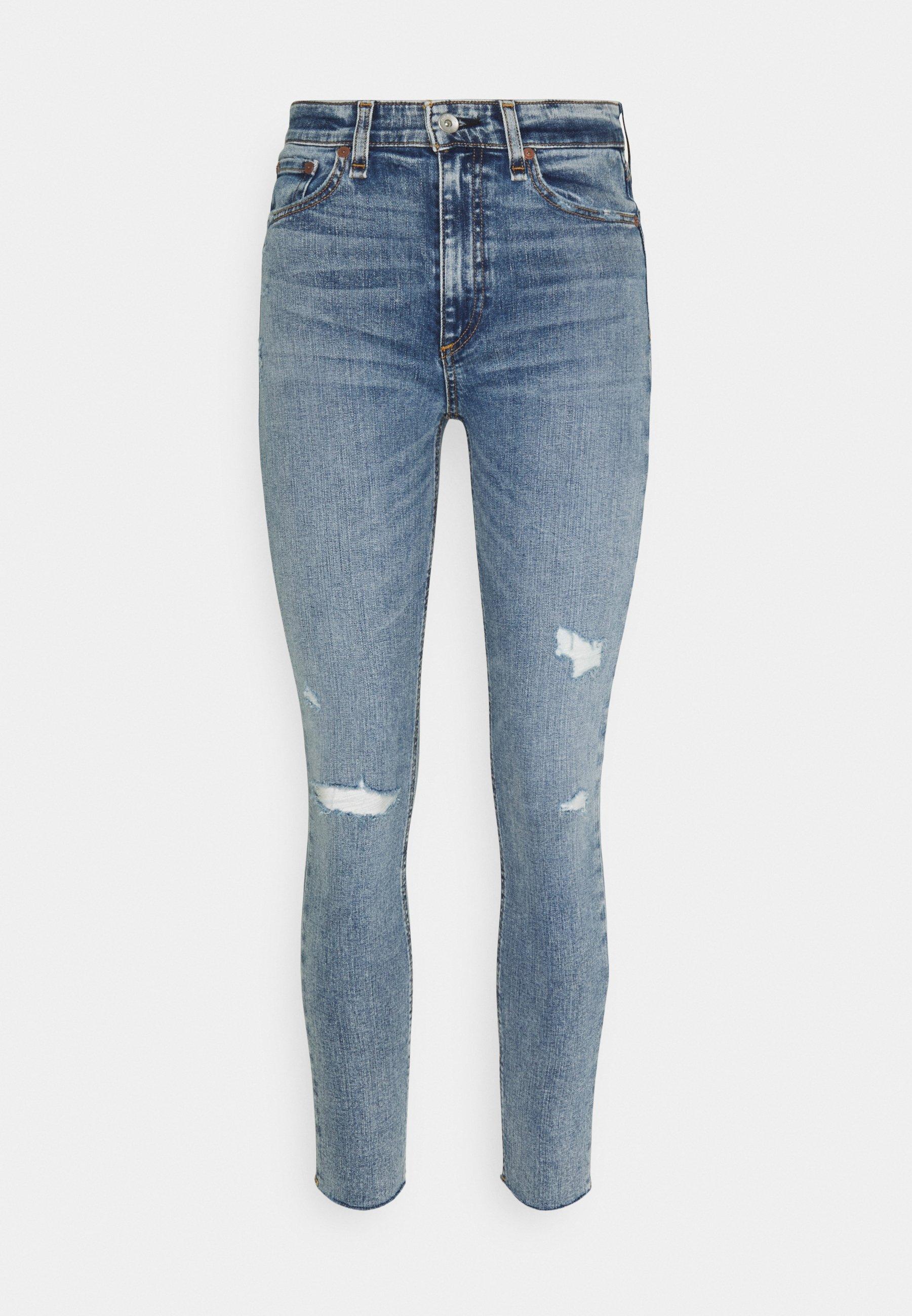 Women NINA HIGH RISE ANKLE SKINNY - Jeans Skinny Fit