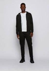 BOSS - TCHARK - Long sleeved top - white - 1