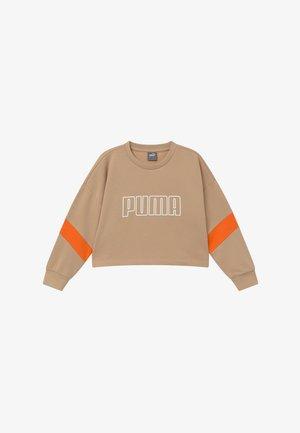 PUMA X ZALANDO GIRLS CREW - Sweater - sesame